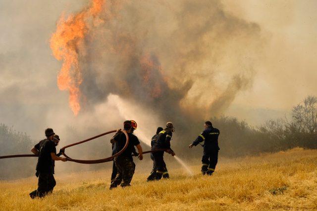 Požáry v Řecku | foto: Profimedia