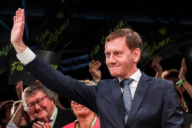 Saský premiér Michael Kretschmer