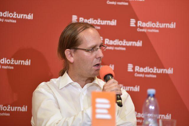 Ústavní právník Jan Wintr | foto: Tomáš Vodňanský,  Český rozhlas,  Český rozhlas