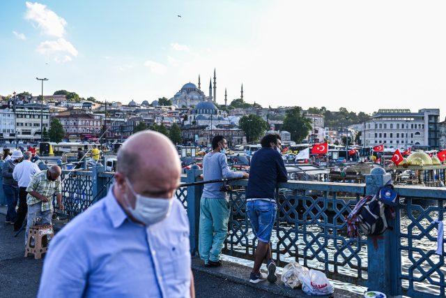 Roušky v Istanbulu