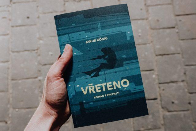 Přebal knihy Vřeteno Jakuba Königa