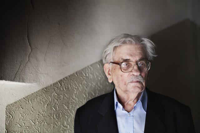 Spisovatel Ludvík Vaculík | foto: Josef Horázný, ČTK