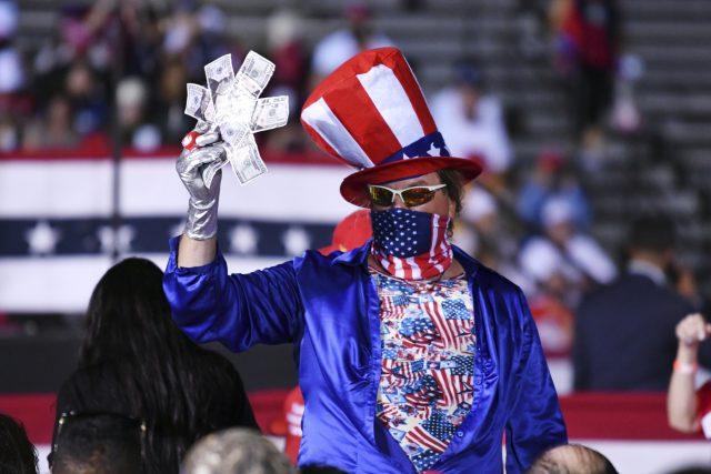 Volby v USA   foto: ČTK/AP/Jim Rassol