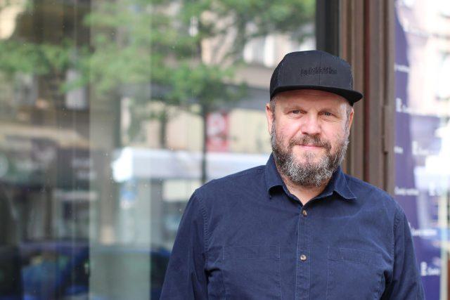 David Ondříček,  režisér a producent   foto: Kateřina Cibulka,  Český rozhlas Plus