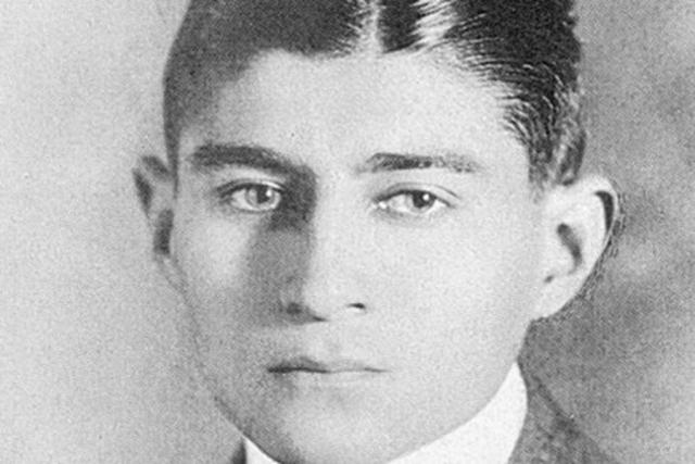 Franz Kafka v roce 1910