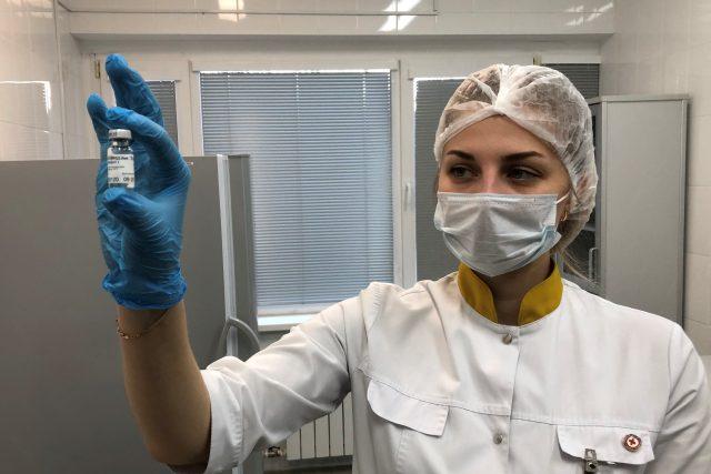 Rusko zahájilo očkování proti covidu svojí vakcínou Sputnik V 30. listopadu   foto: Ivana Milenkovičová,  Český rozhlas,  Český rozhlas