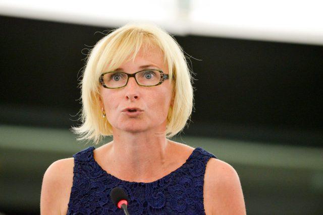 Europoslankyně Kateřina Konečná z KSČM