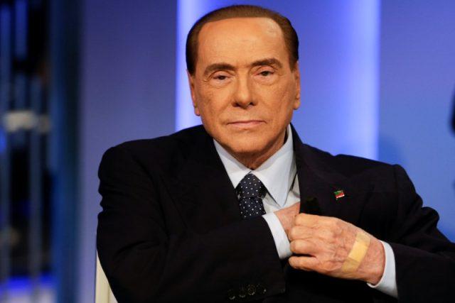 Bývalý premiér a šéf strany Vzhůru, Itálie Silvio Berlusconi