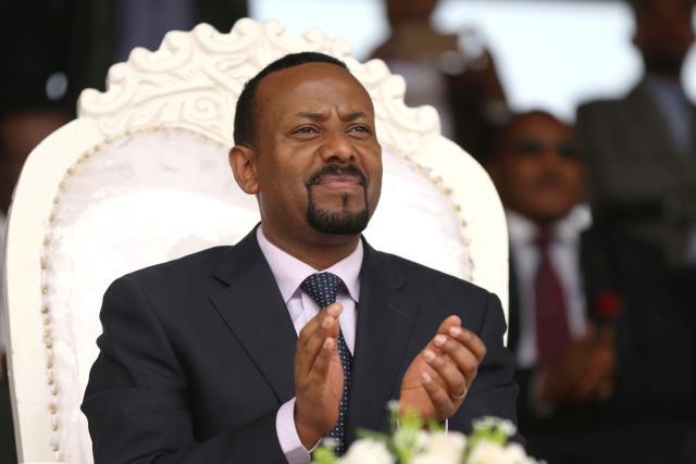 Premiér Etiopie Abiy Ahmed