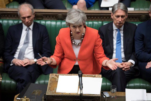 Předsedkyně britské vlády Theresa Mayová