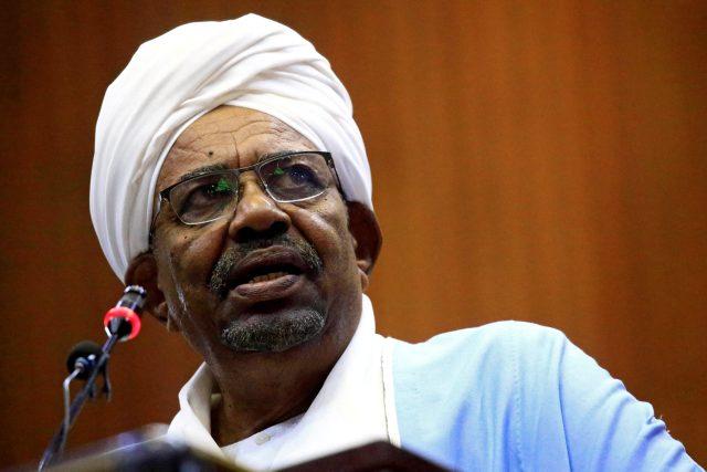 Súdánský prezident Umar Hasan Ahmad al-Bašír