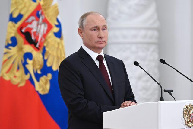 Ruský prezident Vladimir Putin   foto: Alexei Nikolsky,  Reuters