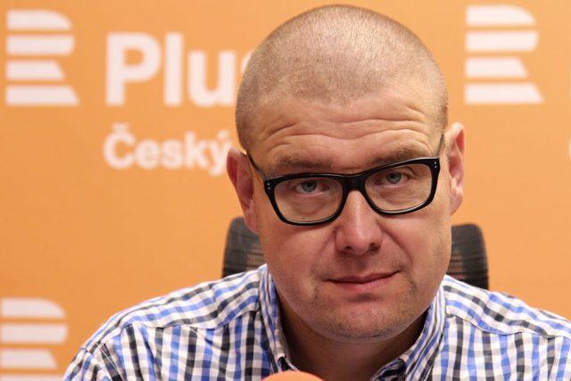 Novinář, redaktor a politický komentátor Jindřich Šídlo