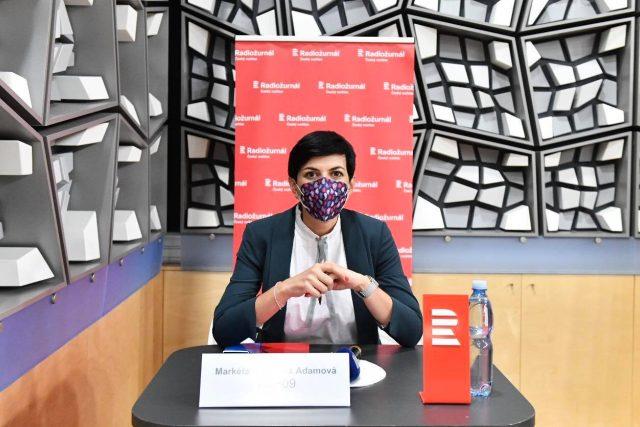 Markéta Pekarová Adamová je od roku 2019 předsedkyně za TOP09. | foto: Michaela Danelová,  Český rozhlas