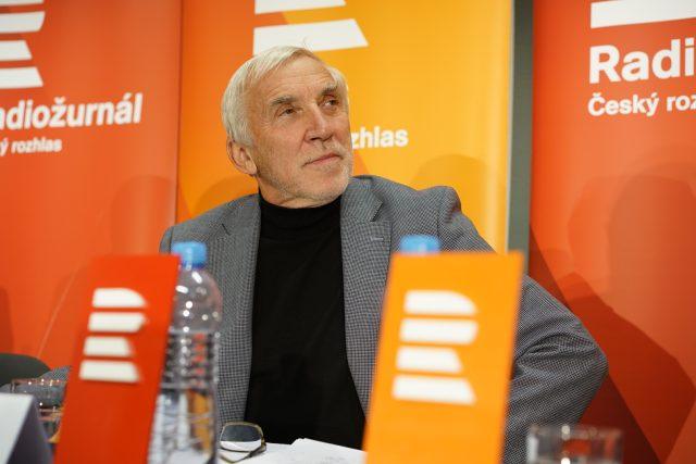 Senátor Jiří Růžička  (za TOP 09 a STAN) | foto: Khalil Baalbaki,  Český rozhlas,  Český rozhlas