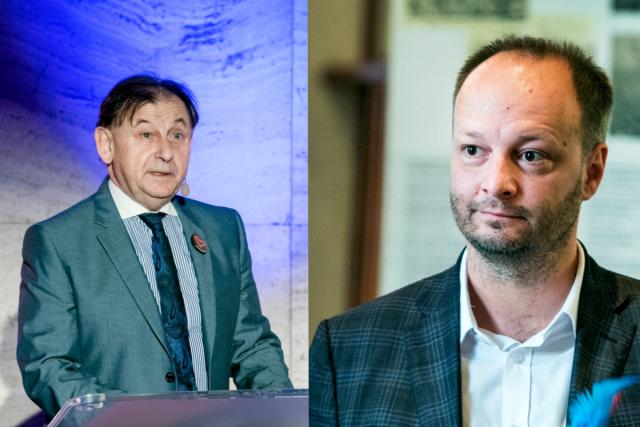 Ať to dopadne jakkoliv,  náš obvod bude mít dobrého senátora,  věří Václav Láska  (Senátor 21) | foto: Profimedia/koláž iROZHLAS.cz