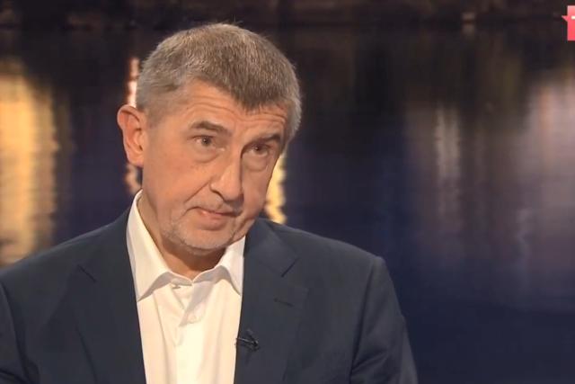 Andrej Babiš během rozhovoru pro TV Nova