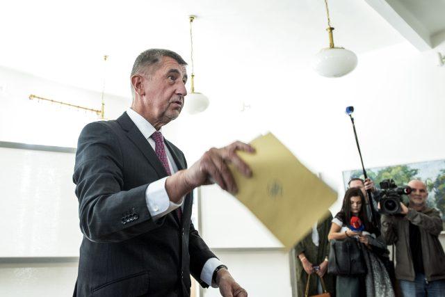 Andrej Babiš, komunální volby 2018