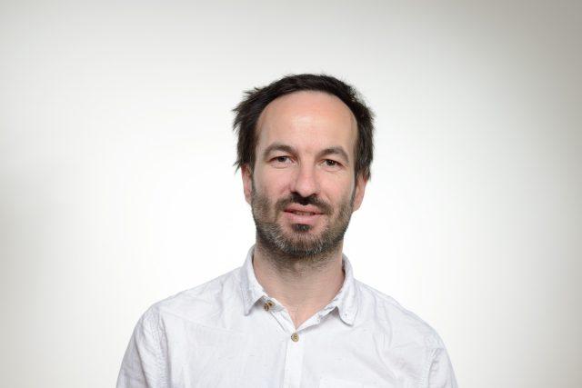 Jan Boček, redaktor Českého rozzhlasu.