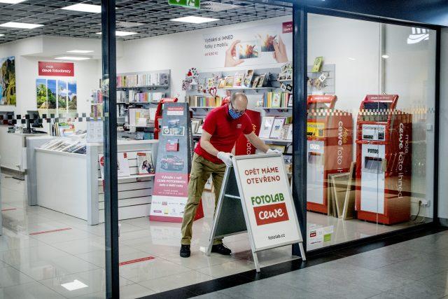 Otevírání obchodů