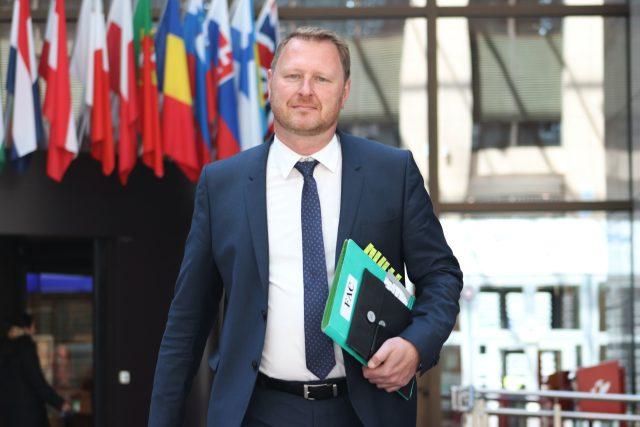 Šéf české diplomatické mise při Evropské unii Jakub Dürr na snímku z května 2019
