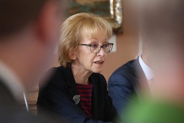 Vládní zmocněnkyně pro lidská práva a exministryně spravedlnosti Helena Válková
