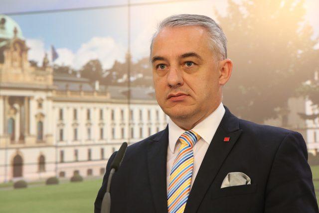 Josef Středula, předseda Českomoravské konfederace odborových svazů (ČMKOS)