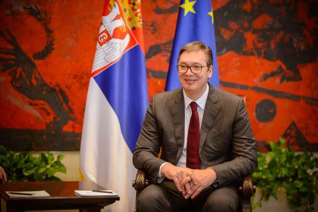 Prezident Srbska Aleksandar Vučić