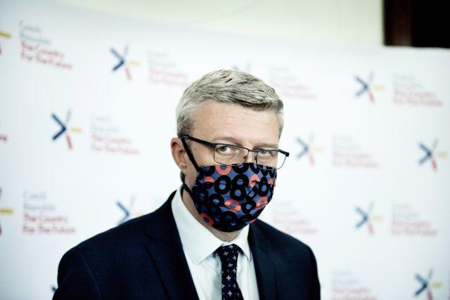 Ministr průmyslu a obchodu Karel Havlíček  (za ANO) | foto: Michaela Danelová,  iROZHLAS.cz