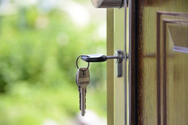 Klíče, bydlení, byt, dům, nájem (ilustrační foto)