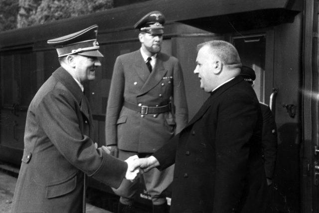 Adolf Hitler a Jozef Tiso