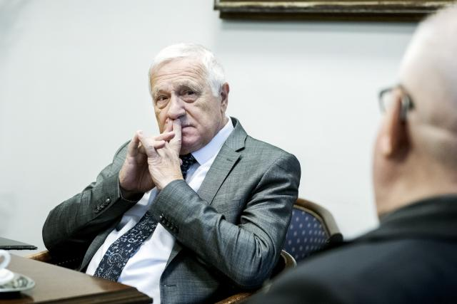 Václav Klaus a Lech Wałęsa
