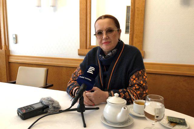 Jelena Koněvová, vnučka maršála Rudé armády Ivana Stěpanoviče Koněva