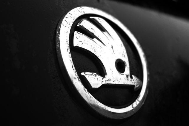 Logo firmy Škoda Auto