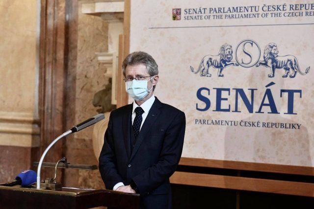 Předseda Senátu Miloš Vystrčil z ODS