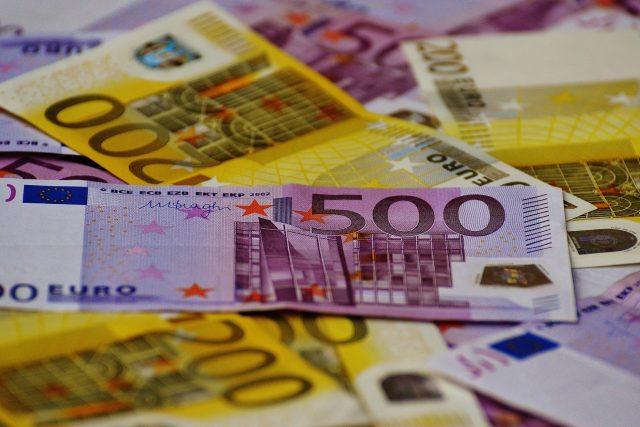 Euro, eura, peníze (ilustrační foto)
