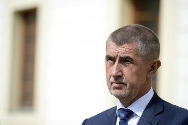 Premiér v demisi a předseda ANO Andrej Babiš