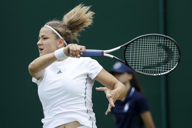 Karolína Muchová na Wimbledonu