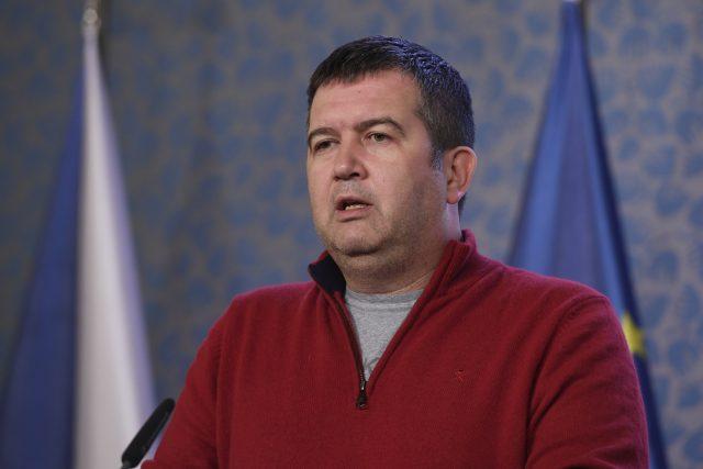 Ministr vnitra a vicepremiér Jan Hamáček z ČSSD po mimořádném jednání vlády 15. března 2020