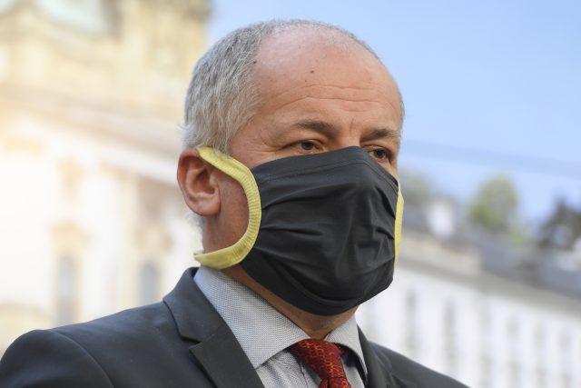 Náměstek ministra zdravotnictví a epidemiolog Roman Prymula