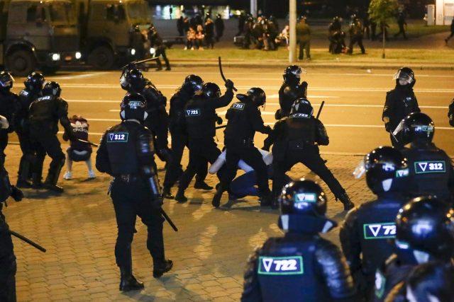 Protesty v Bělorusku