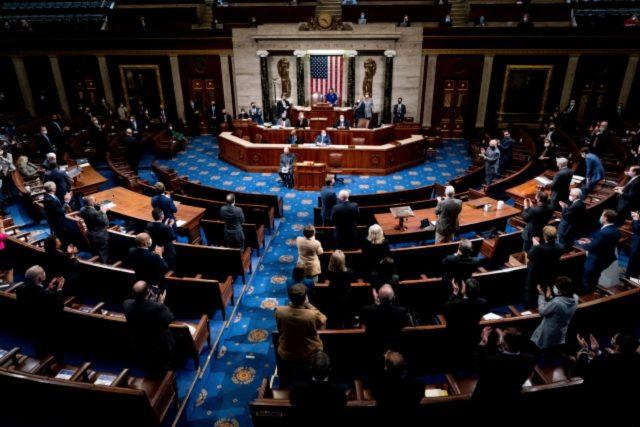 Pokračující jednání Kongresu o výsledku prezidentských voleb | foto: ČTK