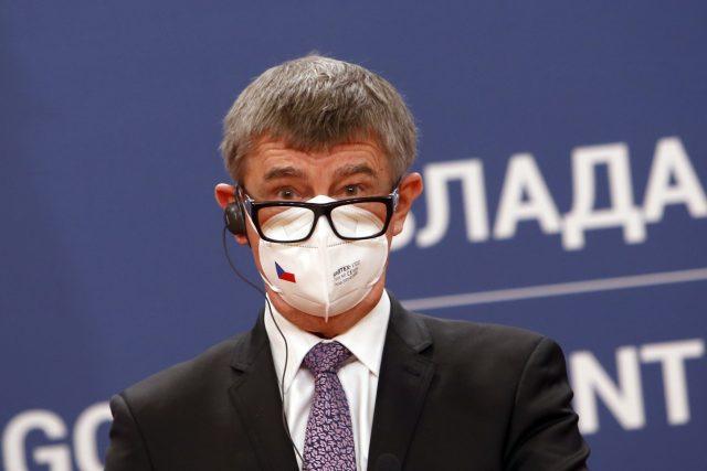 Premiér Andrej Babiš v Srbsku