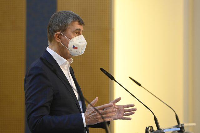 Premiér Andrej Babiš | foto: Ondřej Deml,  ČTK