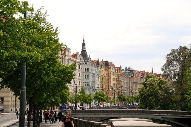 Stromy, Praha, ulice (ilustrační foto)