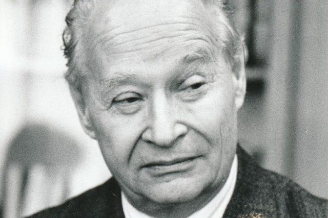 Bývalý 1. tajemník Ústředního výboru Komunistické strany Československa Alexandr Dubček.