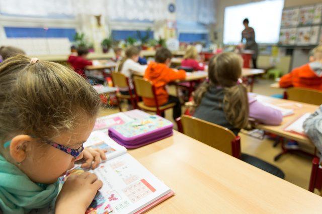 Školáci na základní škole (ilustrační foto)