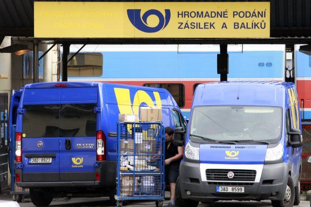 Česká pošta kompletně mění systém naceňování balíků (ilustrační foto)