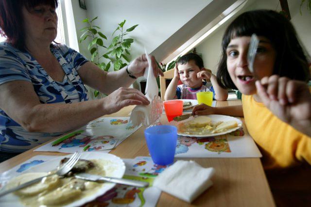 Děti v Klokánku - rodinné alternativě ústavní péče (ilustrační foto).