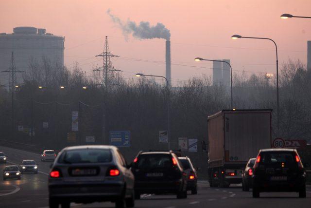 Zvýšená emise polétavého prachu v Ostravě